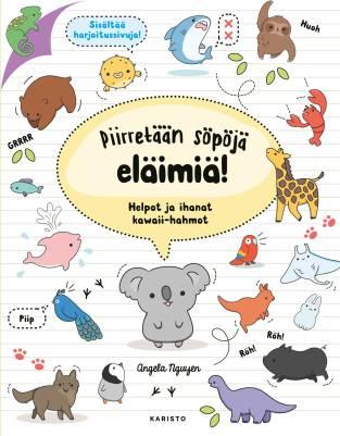 Piirretään söpöjä eläimiä!